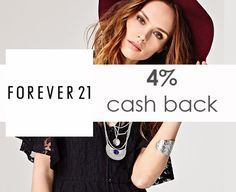 Stock up on summer clothing at Forever21 & earn 4% cash back when you shop with studentrate!
