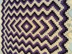 Drop in the Pond Afghan