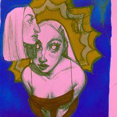Hi I'm Lizbeth im 21 and i luv to draw hehe ART Pretty Art, Cute Art, Art Sketches, Art Drawings, Arte Indie, Kunst Tattoos, Arte Sketchbook, Art Hoe, Hippie Art