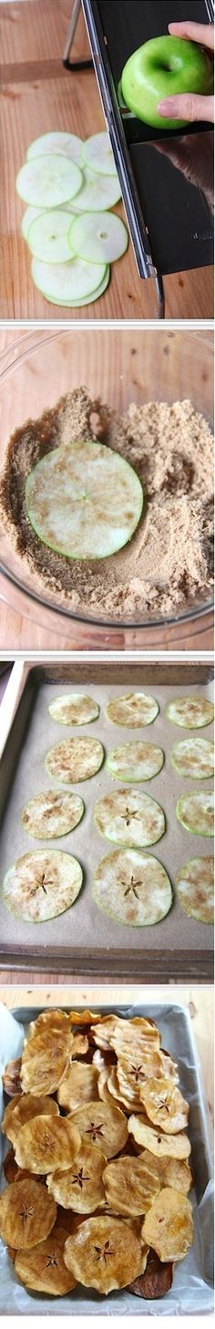 Baked Apple Chips Recipe WAAAANTTTTTTTTT NOWWWWWWWW