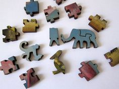 Amazon.com: Artifact Puzzles - Kevin Sloan Migration of Knowledge Wooden Jigsaw Puzzle: Toys & Games