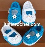 Free baby crochet patterns baby footwear. Uk & US Versions