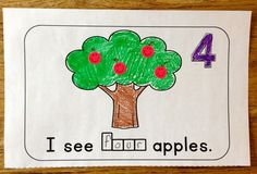 Students make sets of numbers 1-10 and practice number words in this cute…