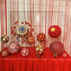 9-12 / 365 精致的霓虹手鞠文化 (就喜欢这种好看的小东西! #temariball