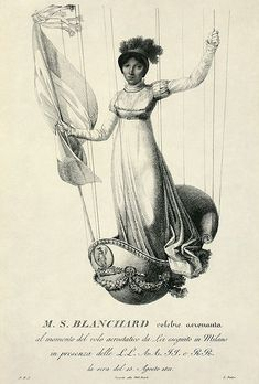 antique balloon engraving - Google Search