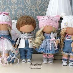 #handmade #красиво #baby #сделанослюбовью #куколки #тильда