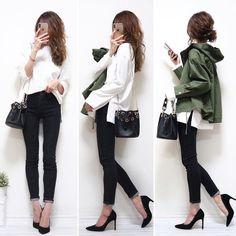 Japan Outfits, Casual Dresses, Fashion Dresses, Japan Fashion, Korean Fashion, Black Jeans, Zara, Womens Fashion, Model