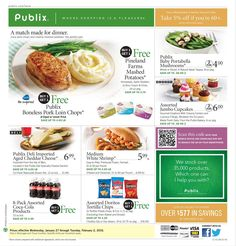 Publix Weekly Ad January 27 - February 2, 2016 - http://www.olcatalog.com/grocery/publix-weekly-ad.html