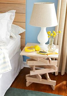 Прикроватный столик своими руками на InfoHome.com.ua