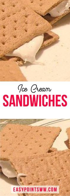 Ice Cream Sandwiches (Weight Watchers) ♥ 2SP / 1PP