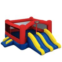 """""""Little Red"""" would be so much fun to add to your next birthday party, family get together or any event! Perfect for the little bouncers. Bounce Houses 