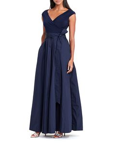 Lauren Ralph Lauren Mixed Media Gown - 100% Bloomingdale's Exclusive