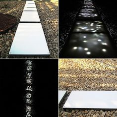 Led-walkway ... very, VERY cool! http://theurbangardendecospotter.typepad.com/my_weblog/new_roomsspaces/