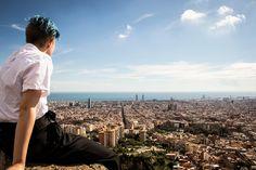 Bunkers del Carmel - Barcelona Бункер, Барселона, Испания, Путешествия, Европа