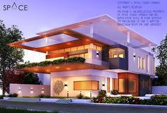 LEVEL 3 is a lifestyle villa designed by Space Studio Chennai