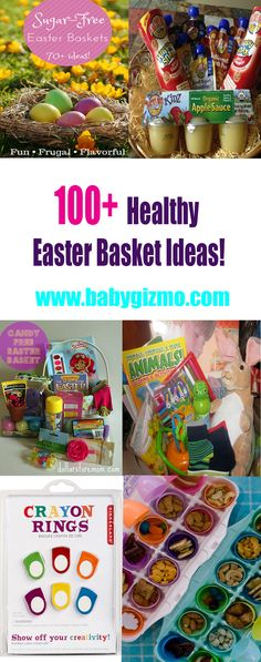 Easter basket ideas for toddlers easterbaskets toddlers 100 healthy easter basket ideas that wont break the bank healthy negle Image collections