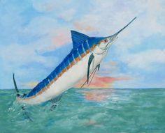 paintings of marlin   Northeast Florida Marlin Association - Photo Gallery