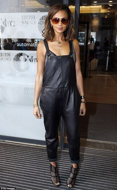 Alesha Dixon looks stylish as she promotes comeback single The Way We Are | Daily Mail Online