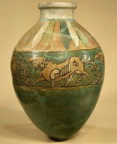 Jar with frieze of bulls. Iron Age III  8th–7th century B.C.E.  Iran, said to be from Ziwiye