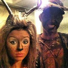 Cute halloween couples costume :)