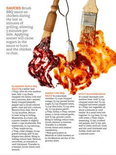 BBQ sauces - BHG June 2013