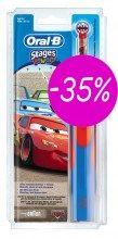 Oral-B Οδοντόβουρτσα ηλεκτρική Vitality Kids Cars -35%