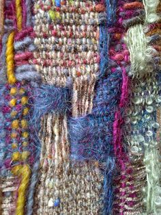 Barcelona-20111119-00201 by JustWeaving, via Flickr....This does not look like simple weaving but is intriguing..
