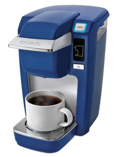 A machine that only takes two minutes to brew a cup of coffee. #Keurig love both of mine!
