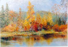 Осенний пейзаж Холст/масло. 2008 г.