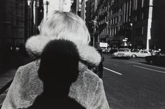 LEE FRIEDLANDER  New York City  1966  Gelatin silver print.  6 1/8 x 9 1/2 in. (15.6 x 24.1 cm)  Signed, titled, dated in pencil and copyright credit reproduction limitation stamp on the verso. via PHILLIPS