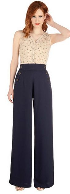 Anything goes costume actually buying the pants putting a striped top with this