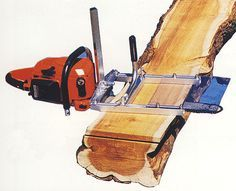Alaskan Sawmill // Log Building and Timber Framing Tools
