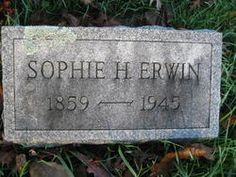 Sophia <i>McCall</i> Erwin