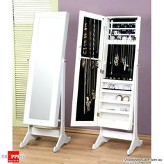 Full Length Mirror Jewellery Cabinet Interesting Ideas Design Jewelry