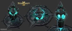 ArtStation - StarCraft 2, Legacy of the Void - Campaign Art!, Chaz Head
