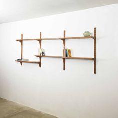 System CADO Wall Unit TEAK Poul Cadovius, 60s danish modern | wall unit teak denmark | midcentury modern interior yourhomeplus.de