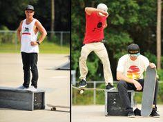 Skate Park photo shoot, look book 2013 www.FLOMOTION.com Photo: AJ Neste