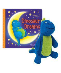 Knitty Bitty Dinosaur Dreams Board Book & Doll #zulily #zulilyfinds