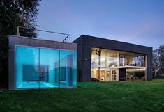 what an incredible house, child/zombie proof Safe House outside of Warsaw in Poland by Architect #RobertKonieczny