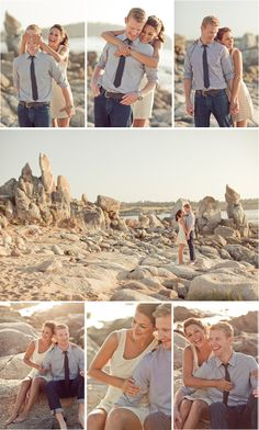 Engagement Photos at the beach?