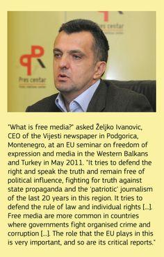 What is free media? #Freemedia #EUenlargement #EuropeanUnion