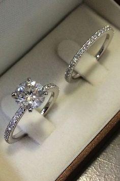 Dream Engagement Rings, Engagement Wedding Ring Sets, Engagement Ring Settings, Vintage Engagement Rings, Vintage Rings, Vintage Diamond, Engagement Rings White Gold, Engagement Jewellery, White Rings