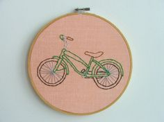 Looking for a bicycle for a counted cross stitch Christmas stocking. Any ideas?