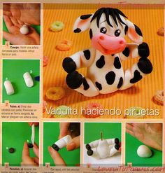 How to make a COW Tutorial - So cute!