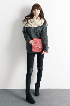 Cute leggings/ sweater style