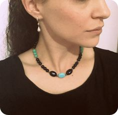 Stunning Boho Turquoise  necklace choker    boho by Arielior, $18.00