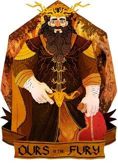 Robert Baratheon, Lord of the Seven Kingdoms and Protector of the Realm by Azim al Ghussein