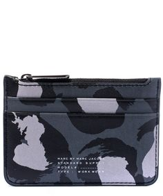 Marc by Marc Jacobs Sophisticato Lina Leopard Print Leather Wallet | Accessories | Liberty.co.uk