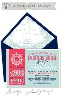 bachelorette weekend invite