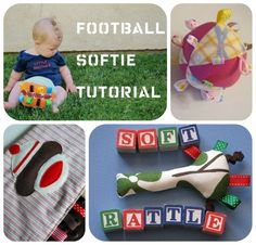 60 Great Handmade Baby gift ideas.  Especially love:  *quiet fabric book,  *Finger puppets  *Soft toys  *Nappy bags  *Baby shoes  *Laudry hamper / toy box  *